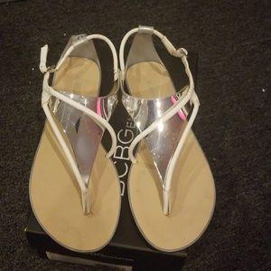 BCBG sandals Size 8